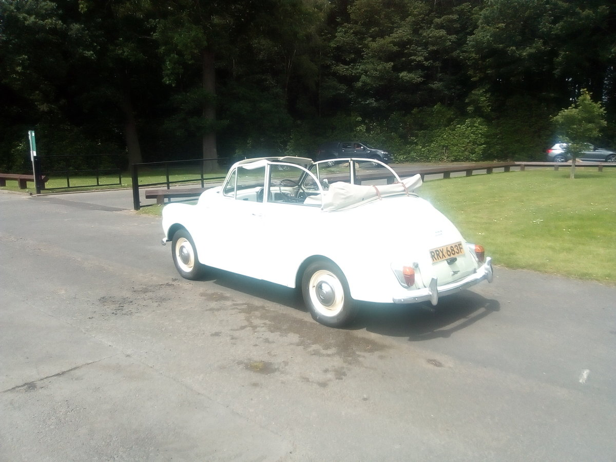 1968 Morris minor convertible tourer  SOLD (picture 1 of 5)