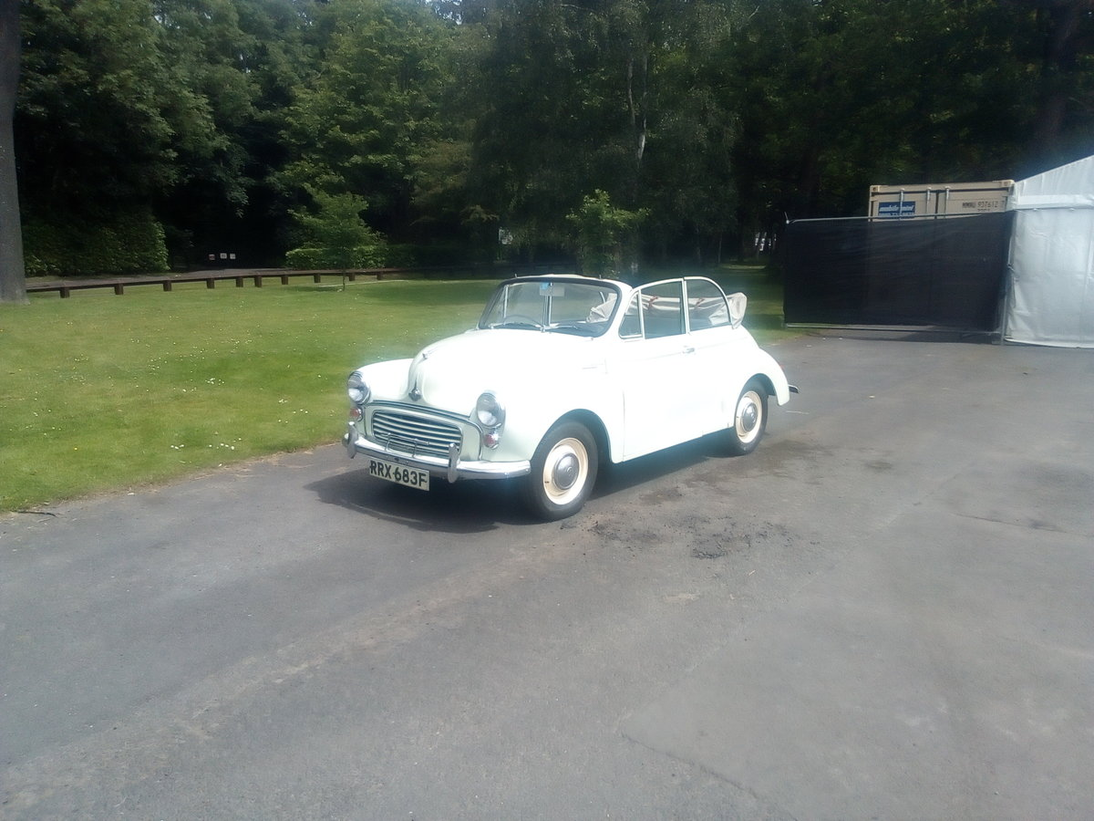 1968 Morris minor convertible tourer  SOLD (picture 2 of 5)