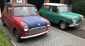 1966 Morris Mk1 Mini Super Deluxe