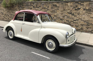 1953 MORRIS MINOR CONVERTIBLE For Sale by Auction