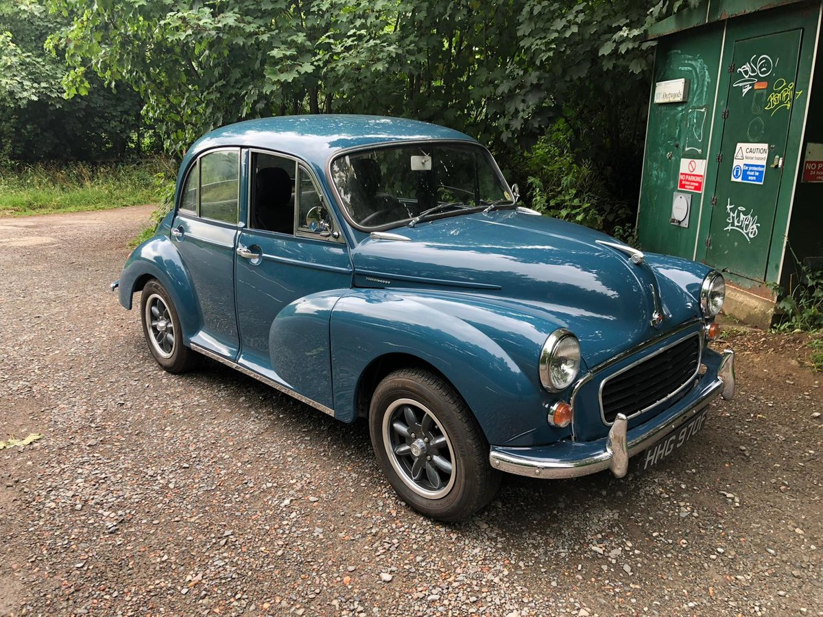 1968 Morris minor saloon For Sale (picture 1 of 6)
