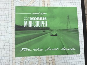 Picture of Mini Cooper Sales Brochure