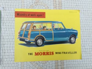 Morris Mini Traveller Sales brochure