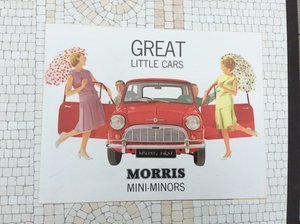 Morris Mini sales brochure