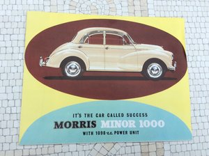 Picture of Morris Minor 1000 Sales Brochure