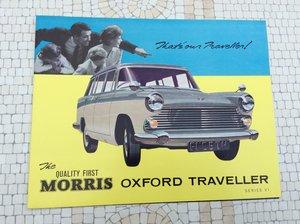 Picture of Morris Oxford Traveller Sales Brochure For Sale