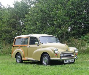 1971 Morris Minor Traveller For Sale by Auction