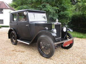 1930 Morris Minor Fabric Saloon (Fully Restored) For Sale