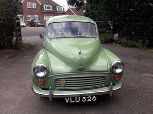 1958 Morris Minor  1000 4 Door