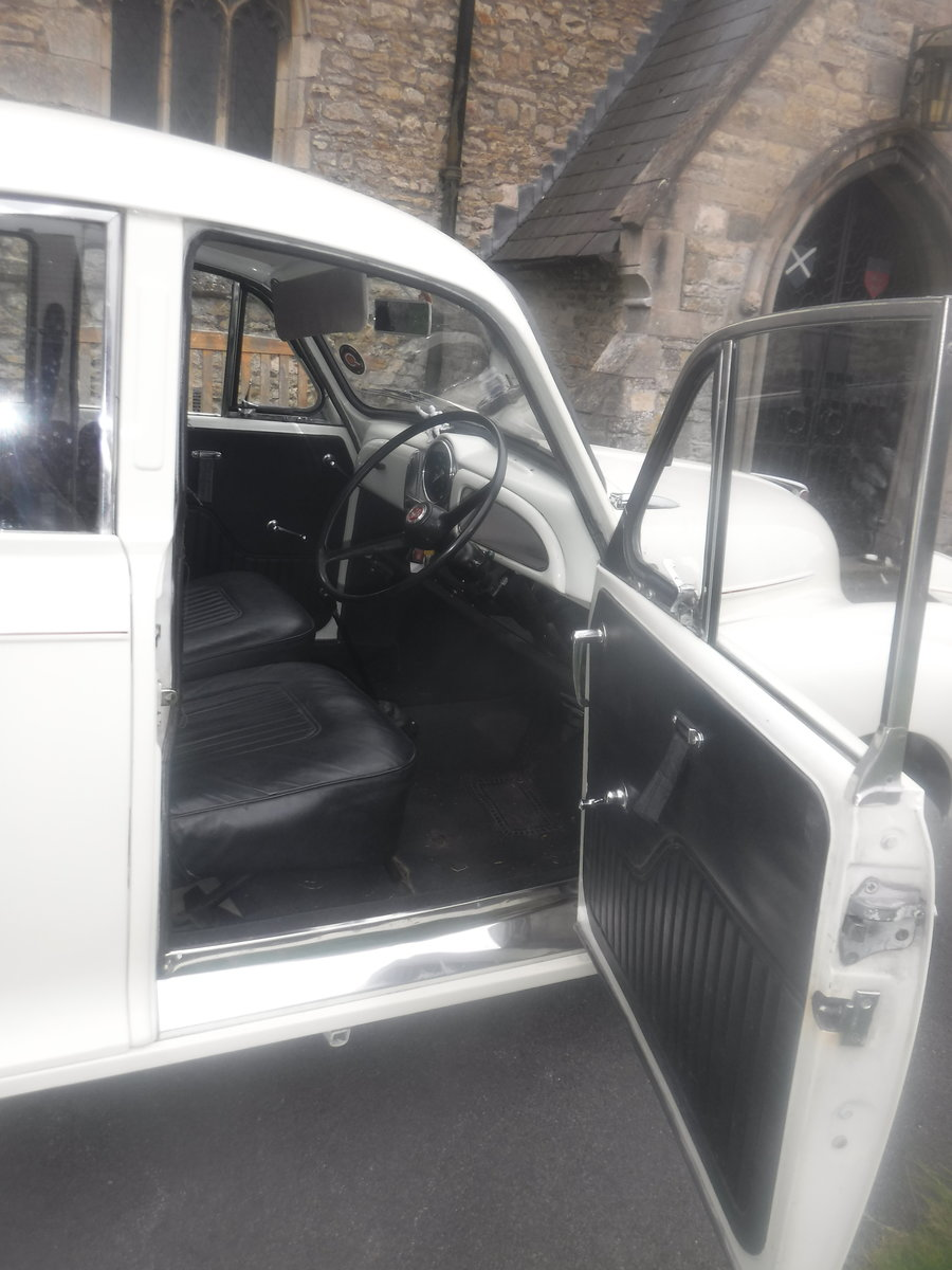 """1970 Morris Minor  The """" DUCHESS"""" SOLD (picture 3 of 6)"""