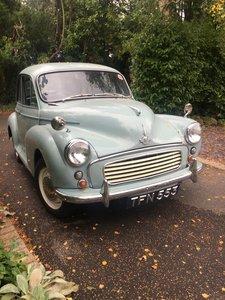 1959 Morris Minor 2 door. NEW MOT Smoke Grey Light Blue