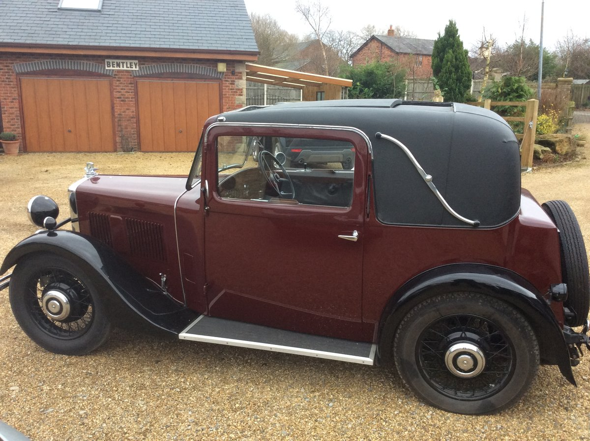 1933 Morris 10/4  Doctors coupe For Sale (picture 2 of 4)