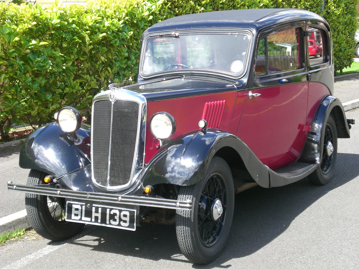 1934 Pre-series Morris Eight SOLD (picture 1 of 6)