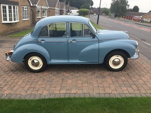 Morris minor 4 door saloon