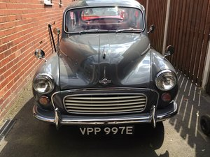 1967 Morris minor 4 door saloon