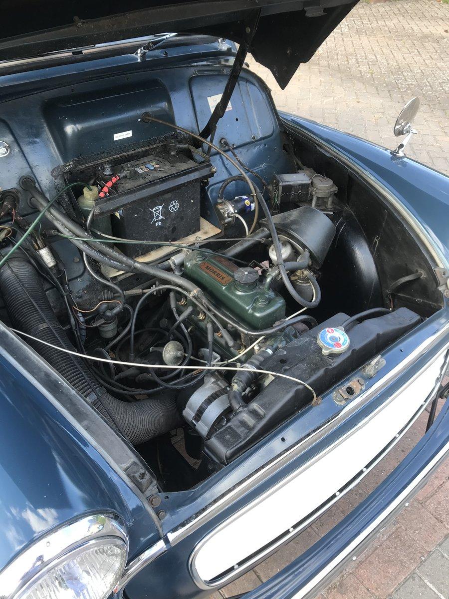 1967 Morris Minor 1000 Trafalgar Blue 2 door Saloon For Sale (picture 4 of 6)
