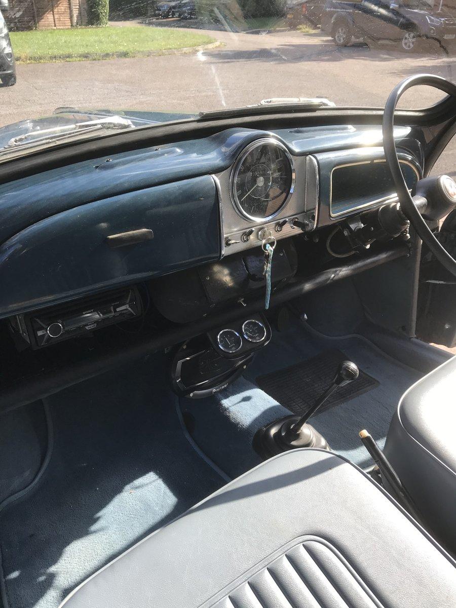 1967 Morris Minor 1000 Trafalgar Blue 2 door Saloon For Sale (picture 5 of 6)