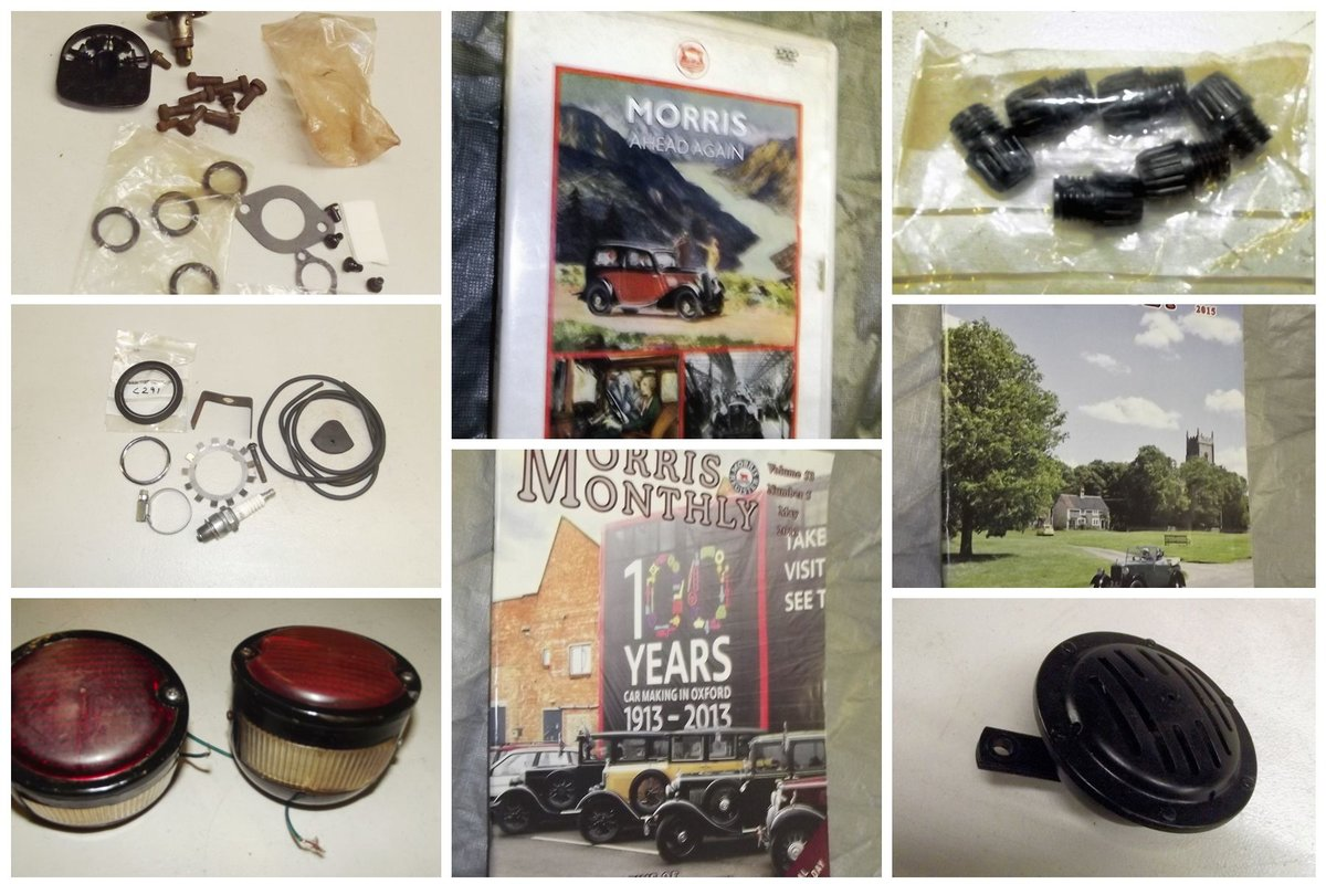 0000 MORRIS 8 MEMORABILIA FOR SALE MAGS, MANUALS ETC For Sale (picture 4 of 5)