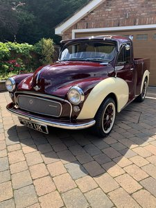 The best Morris Minor Pick Up Truck on the planet!