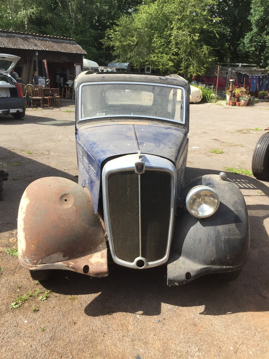 1936 Barn find project Morris 10 For Sale (picture 1 of 6)