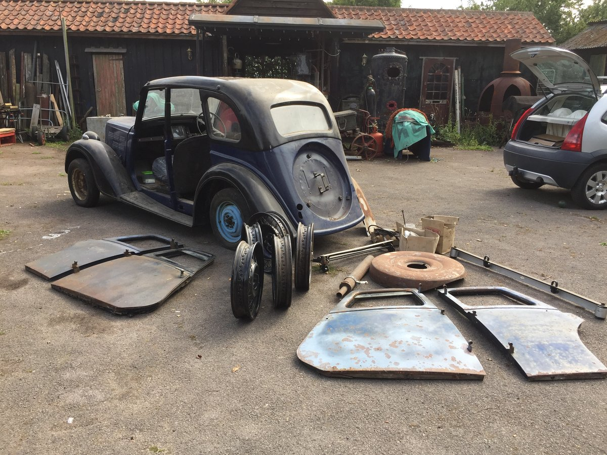 1936 Barn find project Morris 10 For Sale (picture 3 of 6)