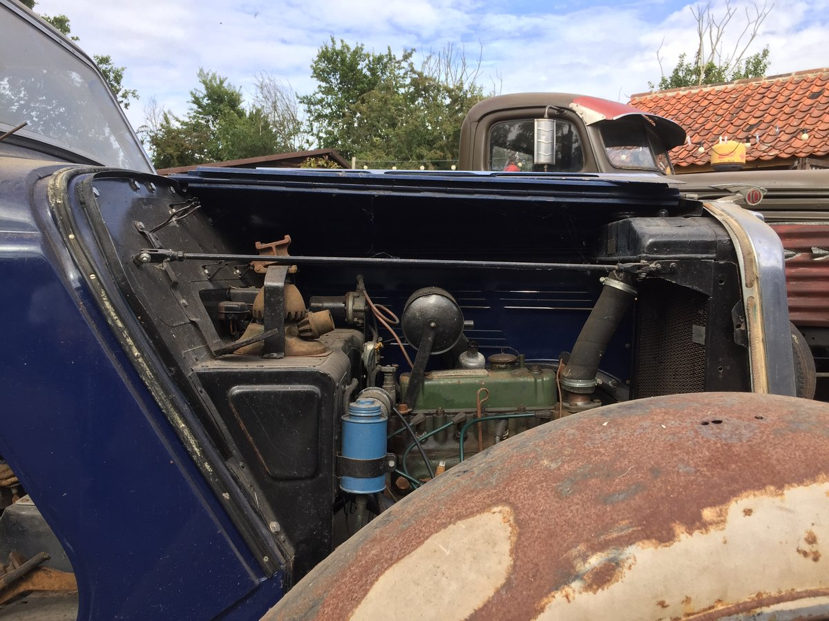 1936 Barn find project Morris 10 For Sale (picture 4 of 6)