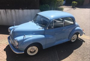 1969 Minor Baby Blue Saloon
