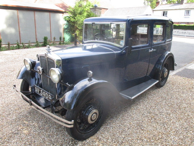 1933 Morris 10/4 Saloon (Lovely oily rag condition) For Sale (picture 1 of 6)