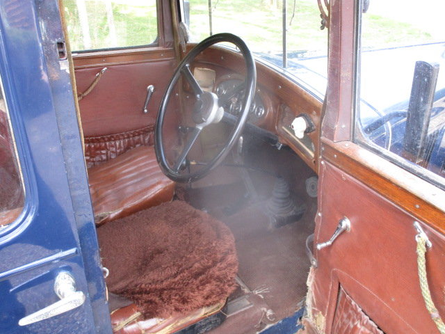 1933 Morris 10/4 Saloon (Lovely oily rag condition) For Sale (picture 4 of 6)