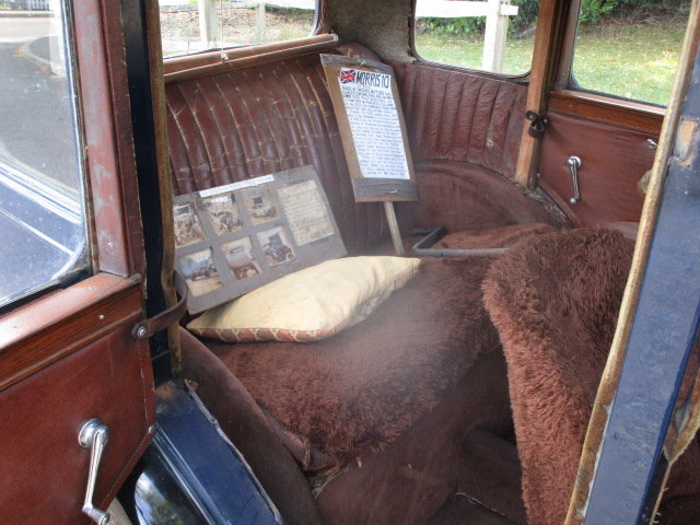 1933 Morris 10/4 Saloon (Lovely oily rag condition) For Sale (picture 5 of 6)