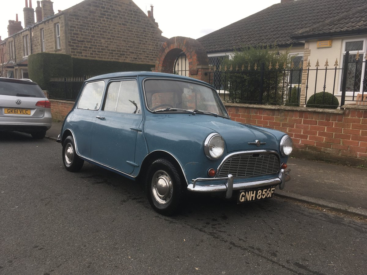 1967 Morris Mini 850 Automatic (Ex TV and Film star). For Sale (picture 1 of 6)