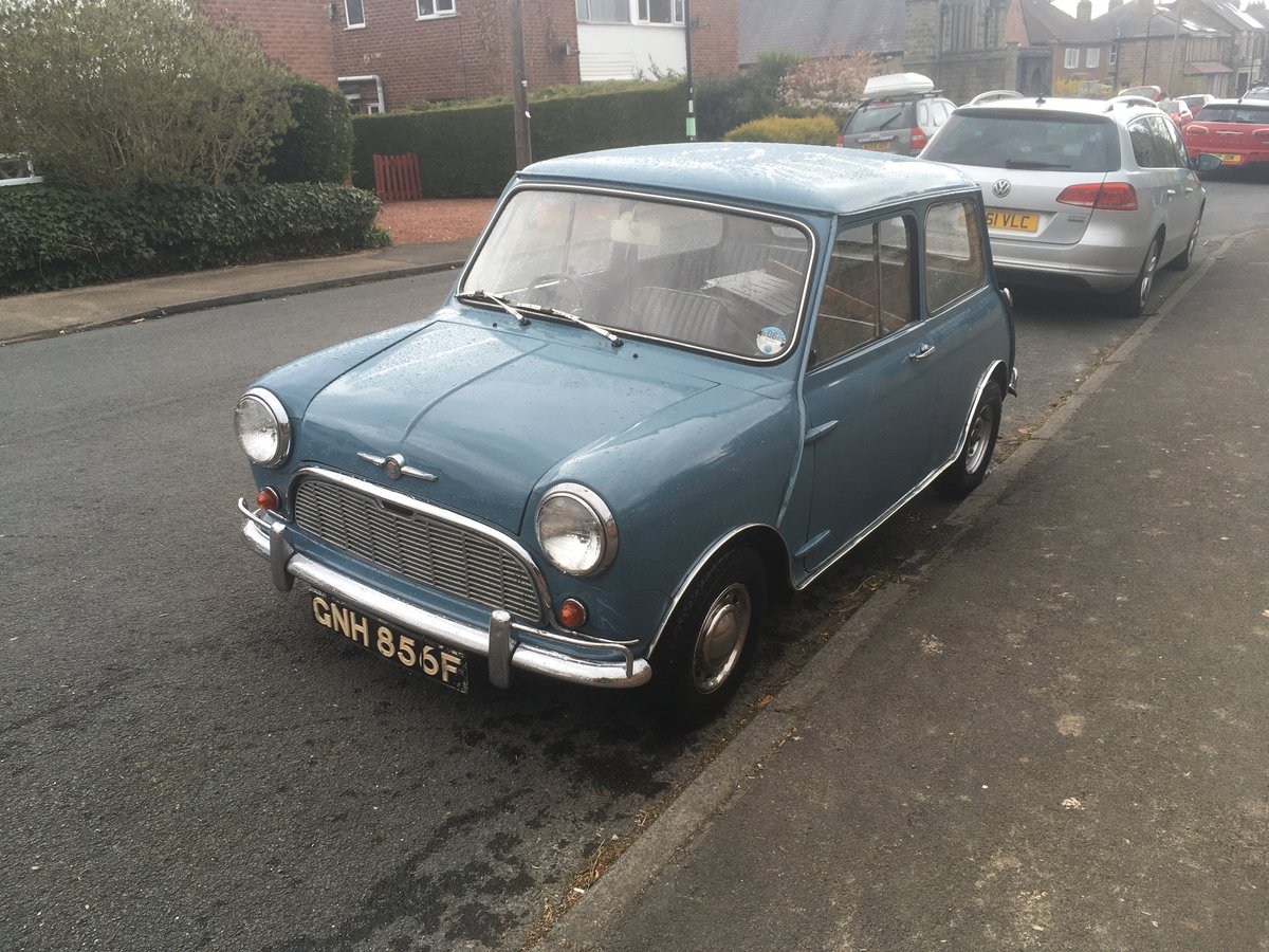 1967 Morris Mini 850 Automatic (Ex TV and Film star). For Sale (picture 2 of 6)
