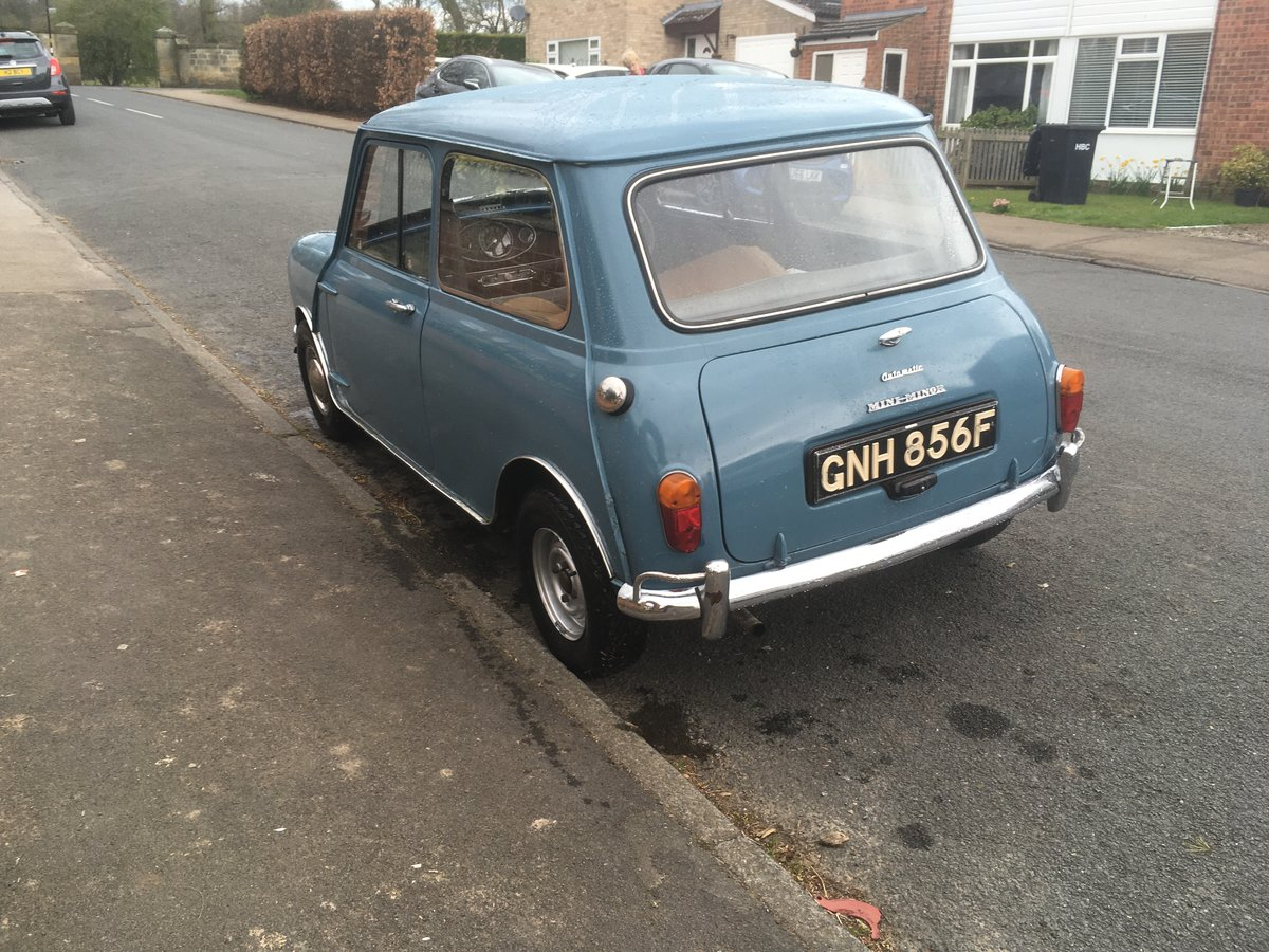 1967 Morris Mini 850 Automatic (Ex TV and Film star). For Sale (picture 3 of 6)