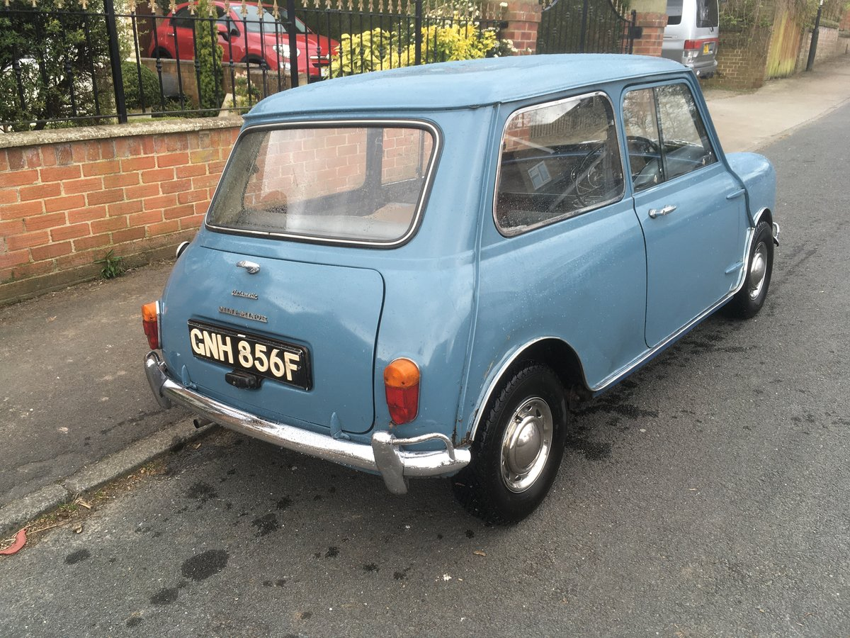 1967 Morris Mini 850 Automatic (Ex TV and Film star). For Sale (picture 4 of 6)