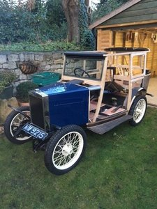 1929 Morris Minor Fabric Saloon