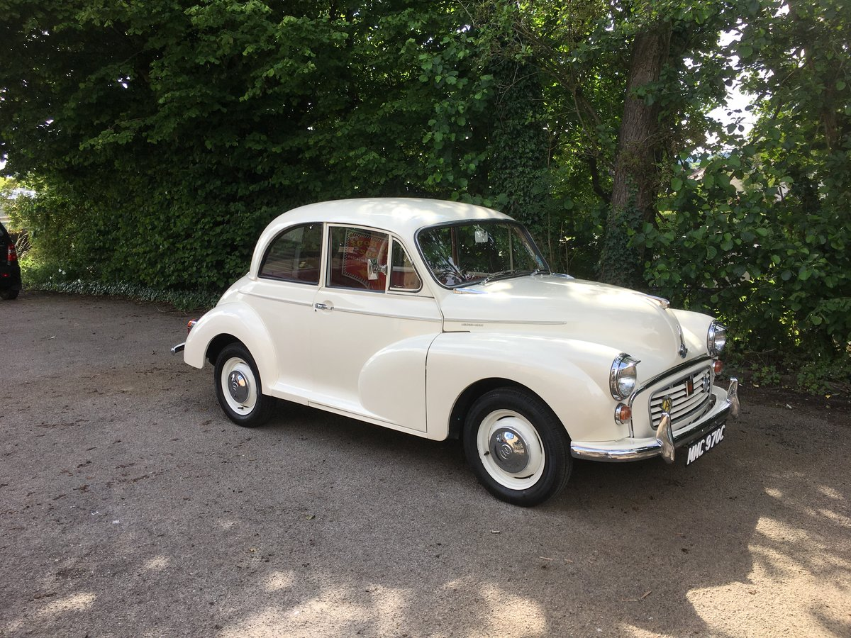 Beautiful 1965 C Reg White Morris Minor 1000 2door For Sale (picture 6 of 6)