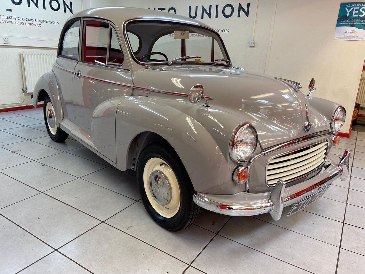 1965 MORRIS MINOR (NUT AND BOLT RESTORATION) CONCOURSE !! For Sale (picture 1 of 6)