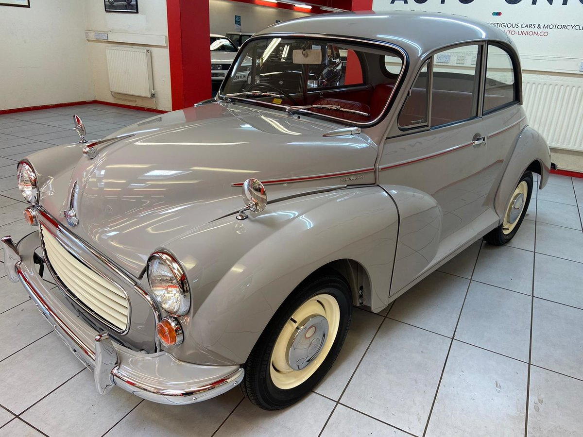 1965 MORRIS MINOR (NUT AND BOLT RESTORATION) CONCOURSE !! For Sale (picture 2 of 6)
