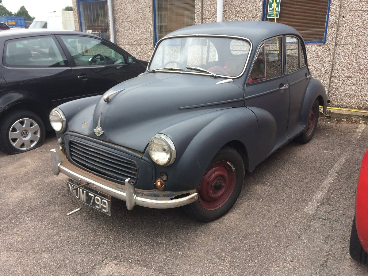 1956 Morris Minor for sale first bay screen SOLD (picture 1 of 6)