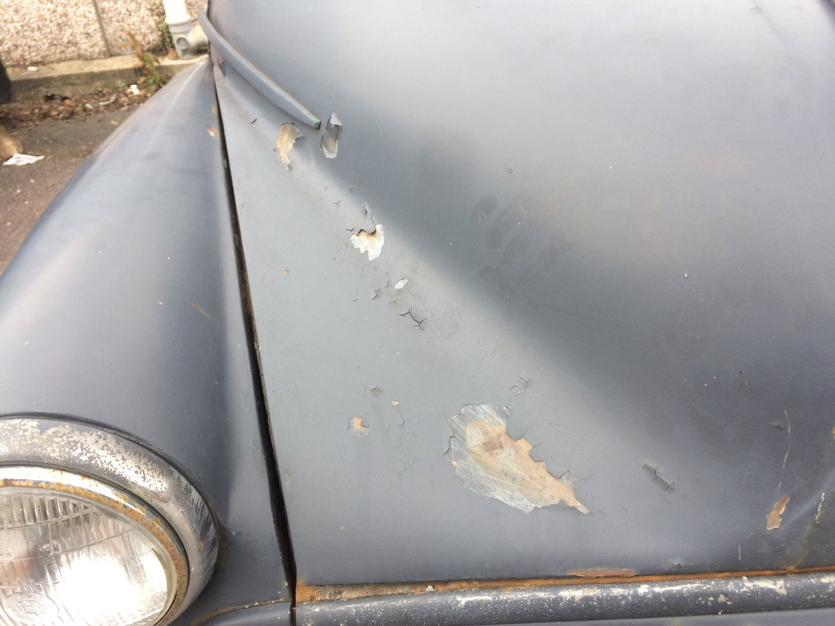 1956 Morris Minor for sale first bay screen SOLD (picture 4 of 6)