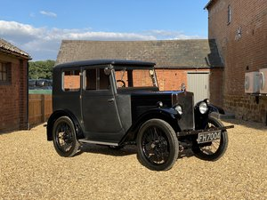 Picture of 1930 Morris Minor Fabric Saloon. Beautifully Restored SOLD