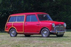 1965 Morris Mini Traveller Delux
