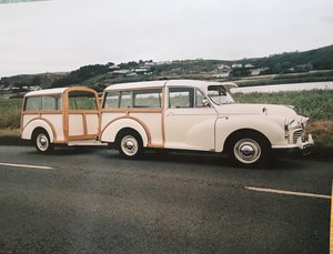 1972 Morris Traveller plus Trailer