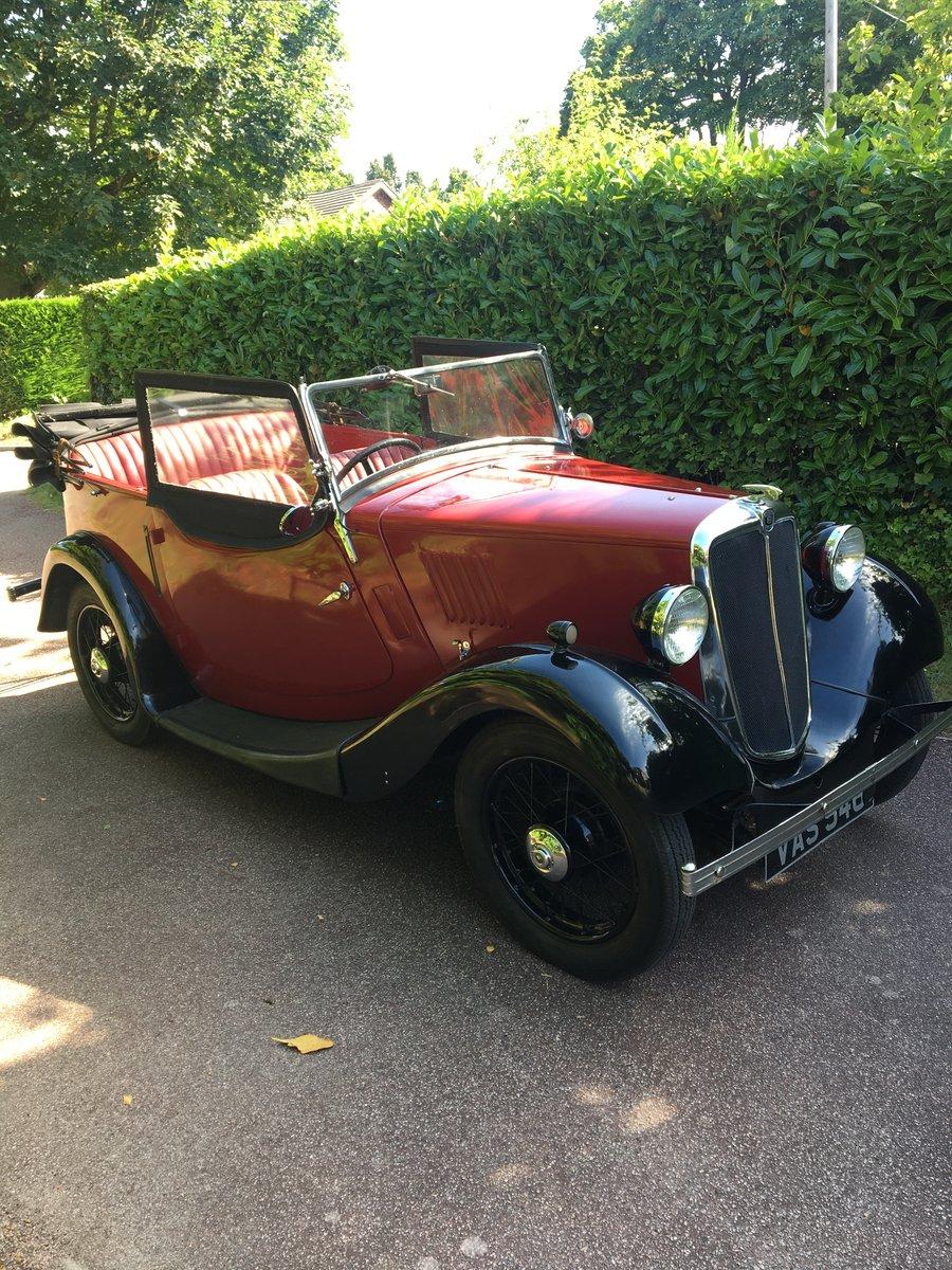 1935 Morris 8 tourer 4-door SOLD (picture 1 of 6)