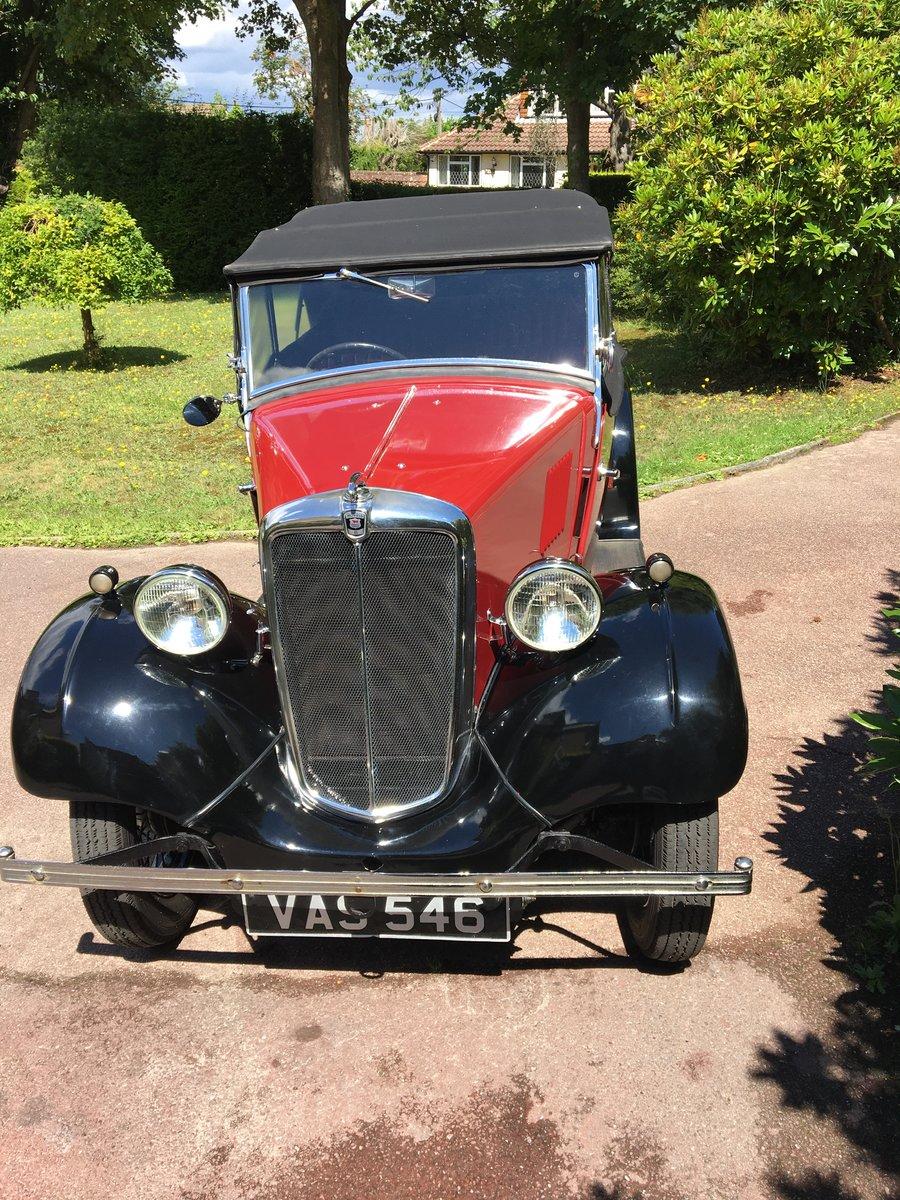 1935 Morris 8 tourer 4-door SOLD (picture 2 of 6)