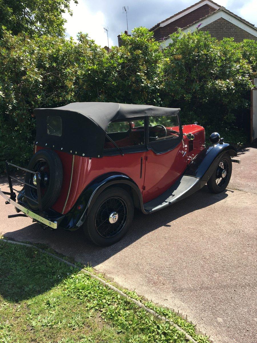 1935 Morris 8 tourer 4-door SOLD (picture 4 of 6)