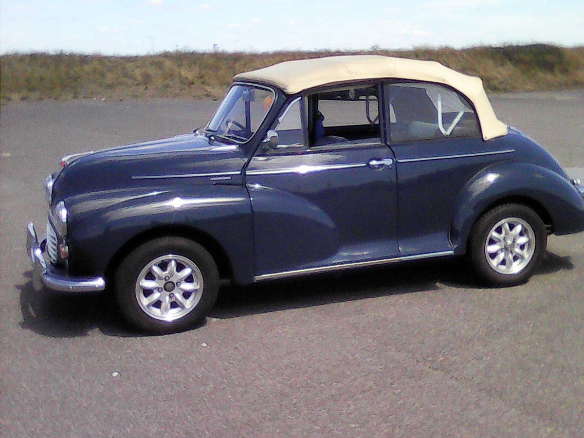 1965 Morris Convertible Completely rebuilt-1098cc For Sale (picture 1 of 6)