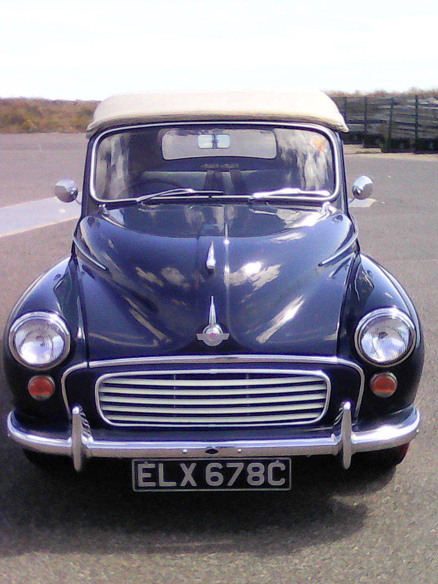 1965 Morris Convertible Completely rebuilt-1098cc For Sale (picture 4 of 6)