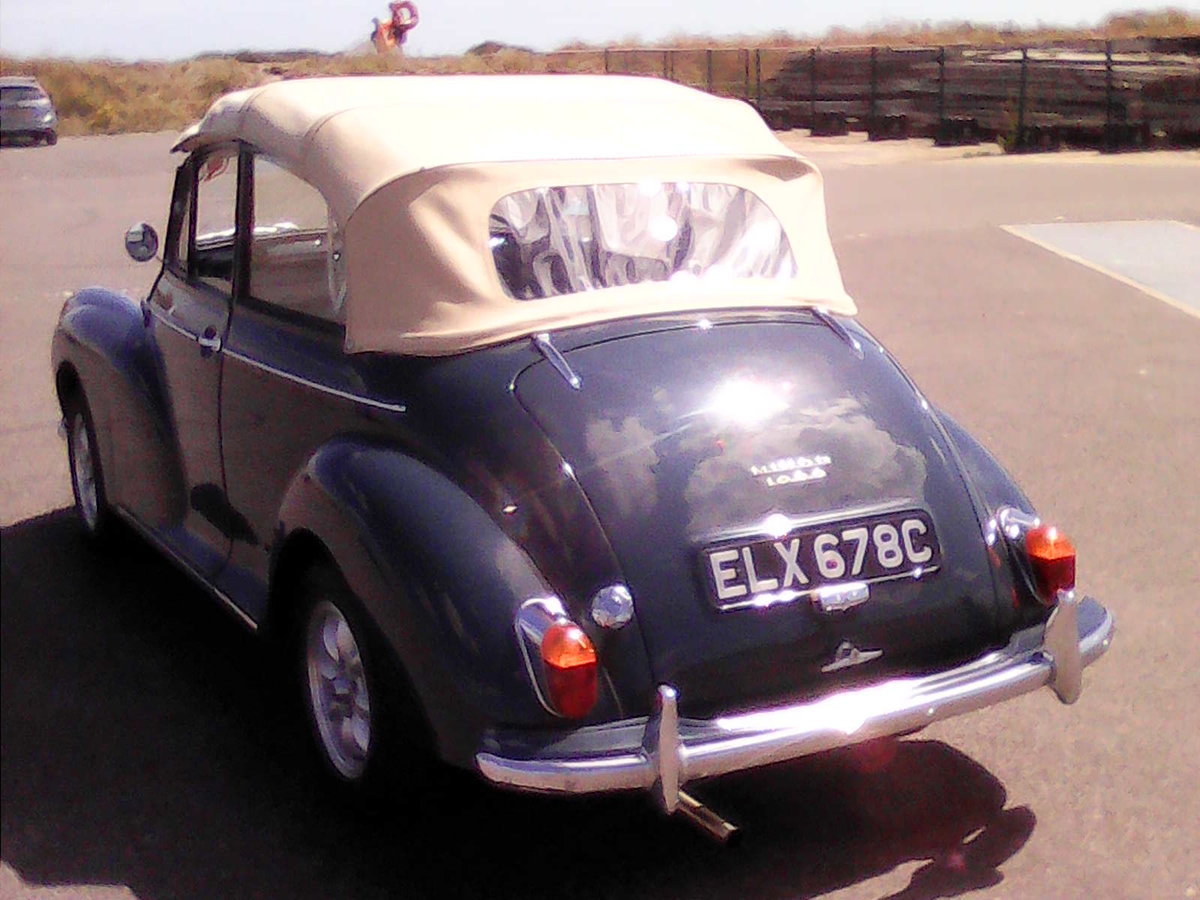 1965 Morris Convertible Completely rebuilt-1098cc For Sale (picture 5 of 6)