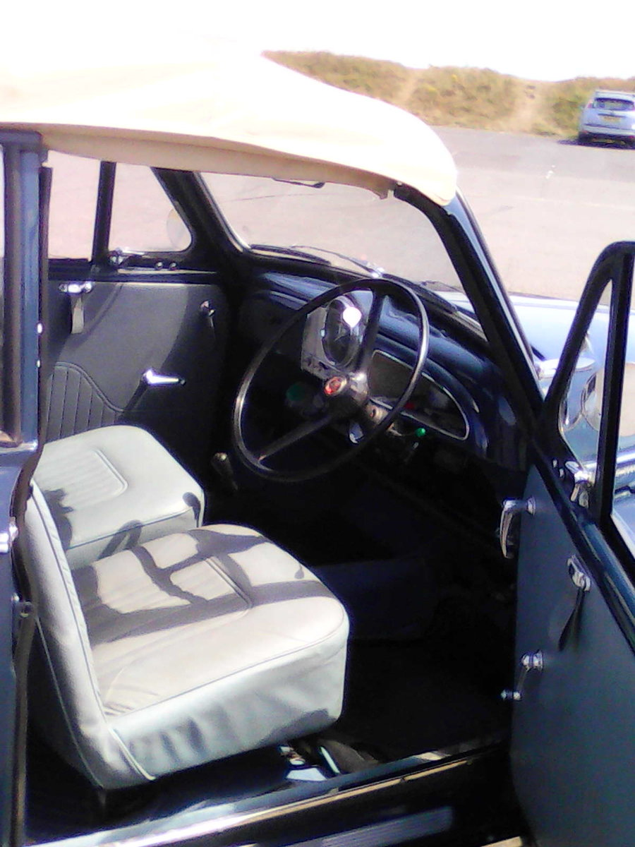 1965 Morris Convertible Completely rebuilt-1098cc For Sale (picture 6 of 6)